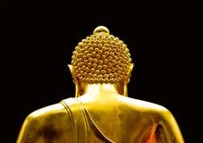 Buddha statue. Buddha on a black background Royalty Free Stock Image