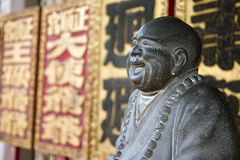 Buddha Statue. At a temple Royalty Free Stock Photography