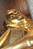 Buddha statue. Looking at the temple in Thailand Stock Photos