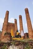 Buddha statue. Stone statue of a Buddha in Thailand Stock Photos
