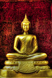 Buddha statue. View of buddha statue in Thailand Stock Images