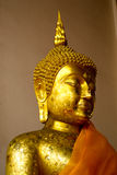 Buddha statue. The statue of Luang Pho Wat Phananchoeng third Royalty Free Stock Photo