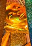 Buddha statue. ฺBuddha statue at Wat Phra Chettuphon Wimon Mangkhlaram Ratchaworamahawihan (Wat Pho) in Thailand Stock Images