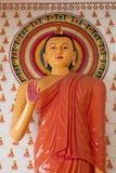 Buddha Statue. In a temple Stock Images