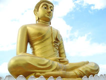 Buddha statue. Big Buddha statue in Thailand Royalty Free Stock Images