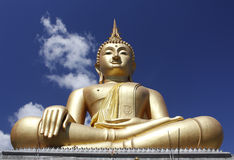 Buddha statue. With blue sky in the background, Thailand Stock Photography