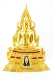 Buddha statue. Thai buddha statue isolated on white background Stock Images