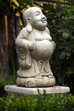 Buddha Statue. A statue of Buddha in my Garden Royalty Free Stock Image