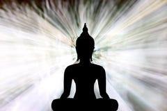 Buddha-Statue stock abbildung