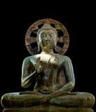 Buddha statue. Statue of Siddhartha Gautama (Buddha) sitting in lotus position royalty free stock photo