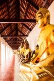 Buddha statue3 Fotografie Stock Libere da Diritti
