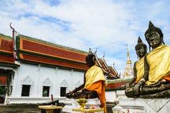 Buddha statue5 Fotografie Stock