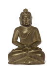 Buddha statue. Isolated on white background royalty free stock photography