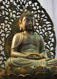Buddha Statue. Bronze Buddha Statue stock photo