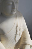 Buddha Statue. A statue of Buddha mediating quietly Royalty Free Stock Photo