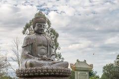Buddha statue an amulet of Buddhism religion Stock Photography