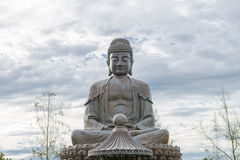 Buddha statue an amulet of Buddhism religion Stock Photos