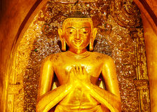 Buddha statue in Ananda temple Stock Photography