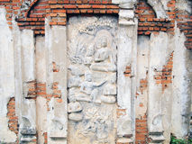 Buddha statue in the Ancient City Stock Image