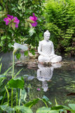 Buddha statue in Andre Heller garden Royalty Free Stock Images