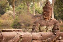 Buddha Statue, Angkor, Cambodia Royalty Free Stock Images