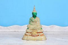 Buddha statue, antique. Antique Buddha statue set, Symbol of buddhism prophet royalty free stock image