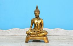 Buddha statue, antique. Antique Buddha statue set, Symbol of buddhism prophet royalty free stock photography
