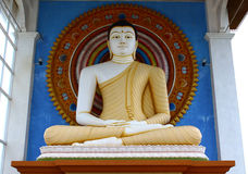 Buddha Statue. the area of Unawatuna Royalty Free Stock Photos
