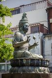 Buddha statue Asakusa Temple in Tokyo. Royalty Free Stock Images
