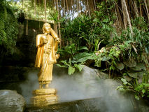 Buddha Statue At Golden Mount Temple At Bangkok, Thailand