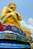 Buddha Statue At Golden Triangle Royalty Free Stock Images