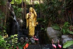 Buddha Statue At The Golden Mount In Bangkok