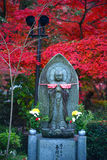 Buddha statue in autumn Stock Photography