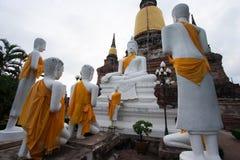 Buddha statue in Ayudhaya province Thailand Stock Image