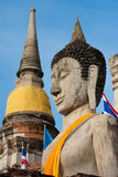 Buddha statue in Ayudhaya province Thailand Royalty Free Stock Images