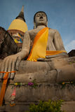 Buddha statue in Ayudhaya province Thailand Royalty Free Stock Photography