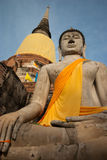 Buddha statue in Ayudhaya province Thailand Royalty Free Stock Image
