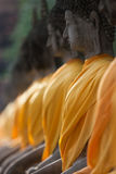 Buddha statue in Ayudhaya province Thailand Royalty Free Stock Photo