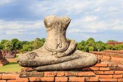 Buddha statue in Ayuthaya Stock Images