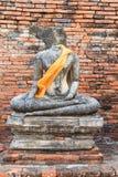 Buddha statue in Ayuthaya Stock Image