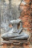 Buddha statue in Ayuthaya Royalty Free Stock Photos