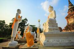 Buddha statue. Ayuttaya, Thailand Stock Photography