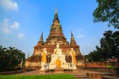 Buddha statue. Ayuttaya, Thailand Royalty Free Stock Photos