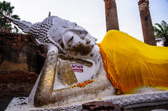 Buddha-Statue in Ayutthaya Stockfotos