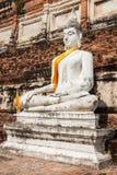 Buddha of statue in Ayutthaya Thailand Asia Stock Photography