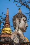Buddha of statue in Ayutthaya Thailand Asia Stock Photos
