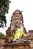 Buddha statue at  ayutthaya,thailand. Buddha statue at  ayutthaya,thai Royalty Free Stock Photo