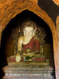Buddha statue of Bagan temple, Burma Stock Photos