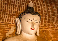 Buddha statue in a Bagan temple, Myanmar Royalty Free Stock Image