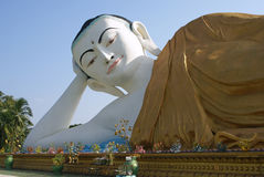 Buddha Statue, Bago, Myanmar Royalty Free Stock Photography